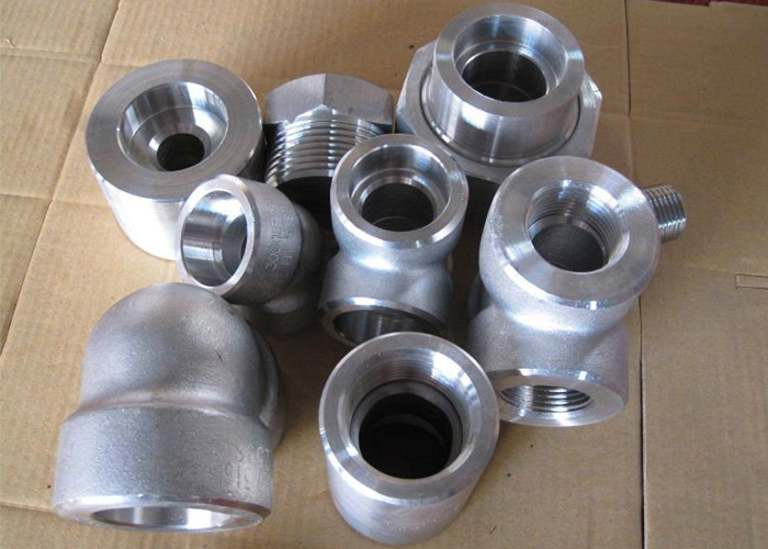 Stainless steel l forged fittings ss threaded
